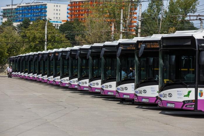 Autobuzele CTP poluează mai puțin