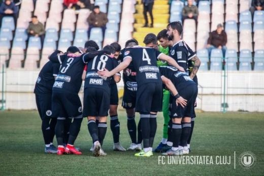 Focar de COVID-19 la Universitatea Cluj. Meciul cu Rapid a fost amânat