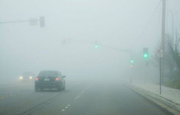 Atenție șoferi, vizibilitate scăzută! Cod galben de ceață la Cluj