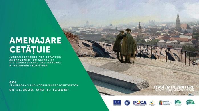 Cetățuia se schimbă radical! Dezbatere privind amenajarea dealului emblematic al Clujului