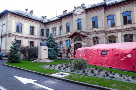 Șase paturi ATI vor fi disponibile pentru bolnavii de coronavirus la Spitalul Județean de Urgență Cluj-Napoca