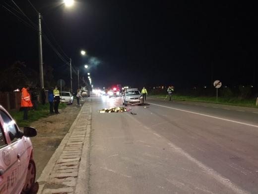Accident MORTAL în Jucu. Poliția intervine la fața locului