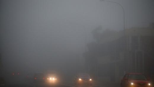 Cod galben de ceață în județul Cluj. Trafic îngreunat pe timpul nopții