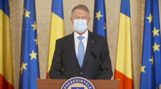 Klaus Iohannis: Până când nu vom avea vaccinul anti-COVID19, nu există altă soluție decât restricții severe