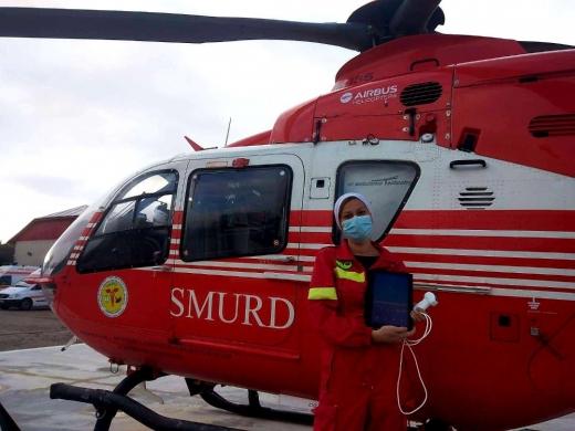 Philips vine în sprijinul pacienților și donează un ecograf portabil Lumify pentru dotarea elicopterului SMURD din Cluj