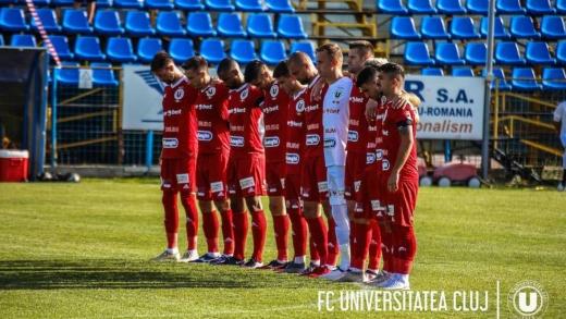 """Noi informații despre starea de sănătate a fotbaliștilor infectați cu COVID-19 de la """"U"""" Cluj"""