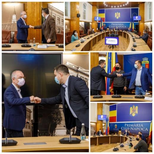 """Clujul dă lecții de administrație Capitalei. Proaspătul primar al Sectorului 6 a venit """"să fure meserie"""" de la Boc"""