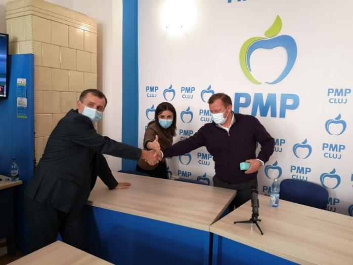 Candidații PMP Cluj și-au prezentat proiectele pe care vor să le realizeze în Parlament