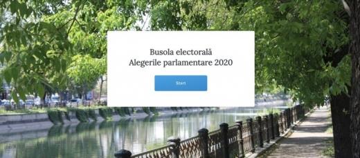 Busola electorală 2020, platforma care permite alegătorilor să își compare preferințele politice cu programele partidelor
