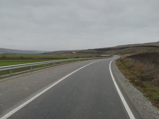 A fost finalizal lotul 1 al Drumului Bistriței - FOTO