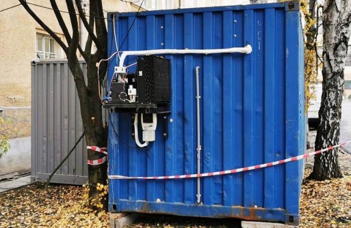 Un nou container frigorific la Morga Sibiu, aglomerată din cauza deceselor de COVID19