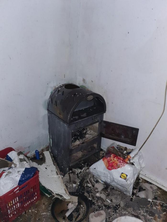 INCENDIU în Florești! Flăcările au pornit de la coșul de fum. FOTO