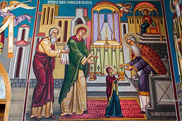 Intrarea în Biserică a Maicii Domnului. Tradiții cu ocazia sărbătorii creștine