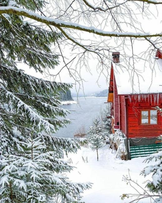 Imagini de poveste din Beliș în urma ninsorii!