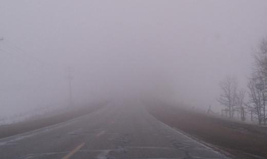 Atenție, șoferi! Cod galben de ceață la Cluj