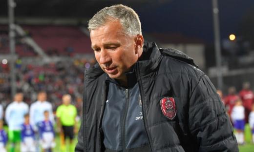 """Petrescu a băgat spaima în fanii lui CFR Cluj:""""E posibil să nu ne prezentăm cu Roma"""""""
