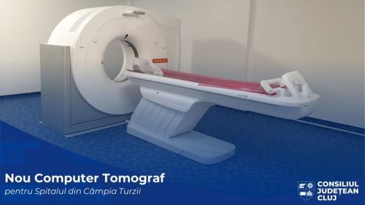 Spitalul din Turda a primit un computer tomograf în valoare de un milion de lei
