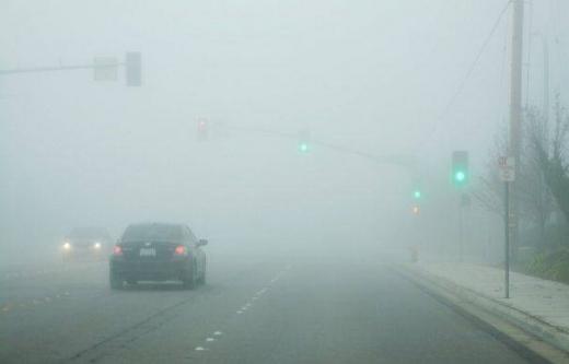 COD GALBEN de ceață în Cluj. Atenție la drum!