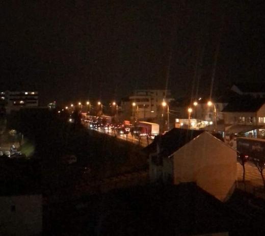 Clujenii, exasperați de lucrările de lărgire pe Calea Baciului. Traficul e infernal. FOTO/VIDEO