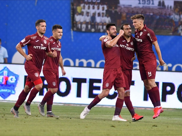 CFR Cluj – AS Roma Europa League. Vinicius și Deac, absenți de marcă în trupa lui Petrescu