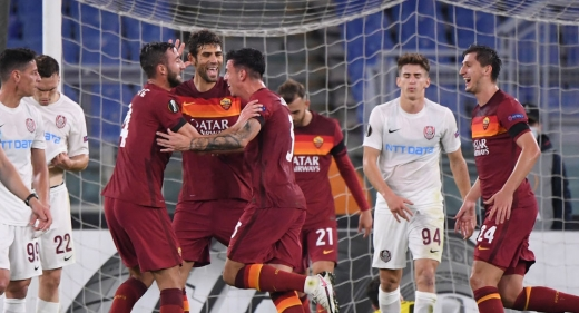 CFR Cluj - AS Roma Europa League. Petrescu s-a decis asupra primului 11