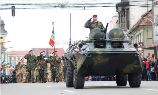 Ceremonie militară de 1 Decembrie la Cluj-Napoca, în condiții de pandemie