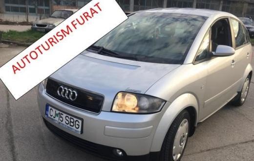 Mașină furată în Cluj-Napoca. Poliția caută făptașii. FOTO
