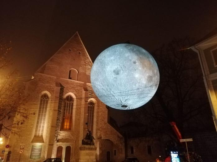Luna de la Cluj, demontată pentru două zile! Când vei putea să o mai vezi?