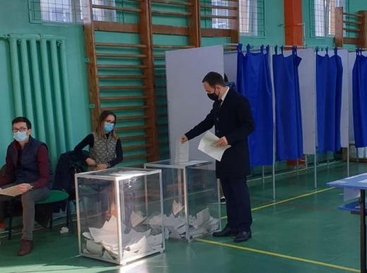 """Ovidiu Cîmpean: """"Am votat pentru dezvoltare durabilă, pentru un Cluj Verde, metropolitan, sănătos și vibrant"""""""