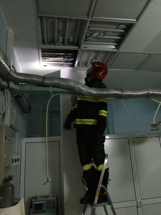Institutul de Urologie nu are autorizație incendiu! Pompierii au evitat astăzi o catastrofă