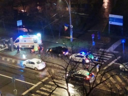 Un bărbat a fost lovit pe trecerea de pietoni, în zona Calvaria, Mănăștur