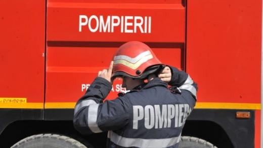 Incendiu într-un apartament din Florești. Totul a pornit de la o lumânare nesupravegheată