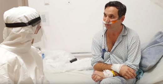 """Mărturia cutremurătoare a unui pacient ATI de la Cluj: """"Nu poți descrie în cuvinte cum e acolo. E mai rău decât un film de groază"""""""