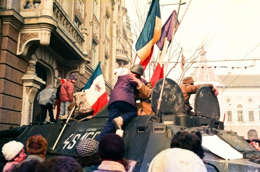 Zilele Revoluției la Cluj văzute prin ochii mei