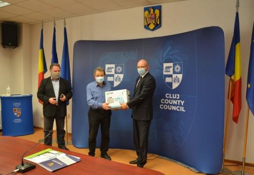 Cinci spitale COVID19 din Cluj au fost dotate cu nebulizatoare. FOTO