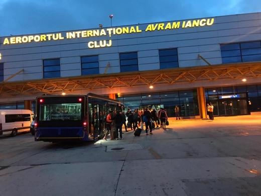 Cursele Luton - Cluj-Napoca revin de luni în programul Aeroportului din Cluj