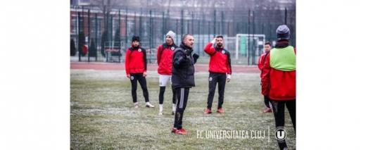 """U"" Cluj revine la antrenamente! Enache îi duce la Mogoșoaia pe ""studenți"""