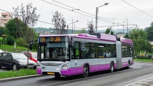 Petiție pentru extinderea rețelei de TROLEIBUZE, la Cluj. Ce TRASEE sunt propuse?