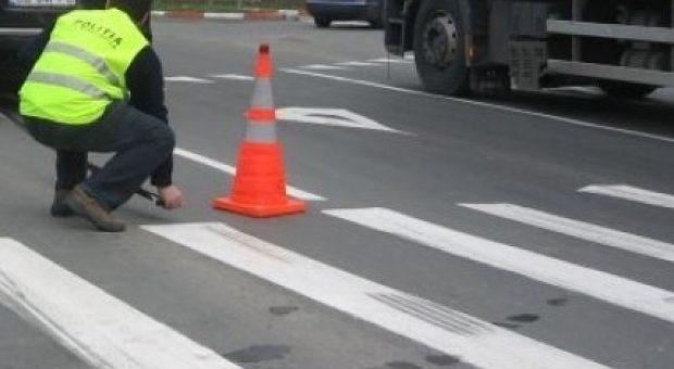Accident GRAV în Baciu pe trecerea de pietoni! Un bărbat a fost transportat de urgență la spital