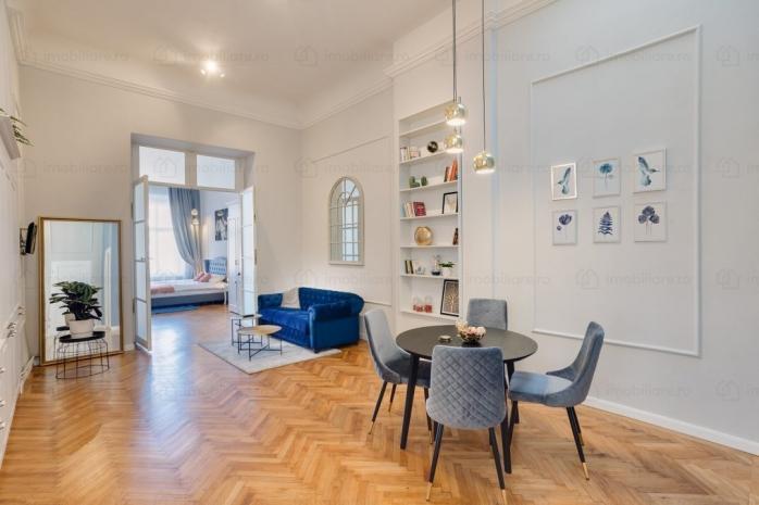 Cum arată apartamentul de vis în Cluj-Napoca! Costă jumătate de milion de euro și este amplasat în centrul orașului. FOTO