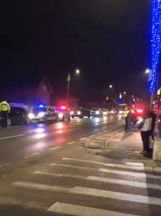 ACCIDENT la o intersecție din Florești, apropae de intrarea în Cluj-Napoca! Traficul este restricționat. FOTO