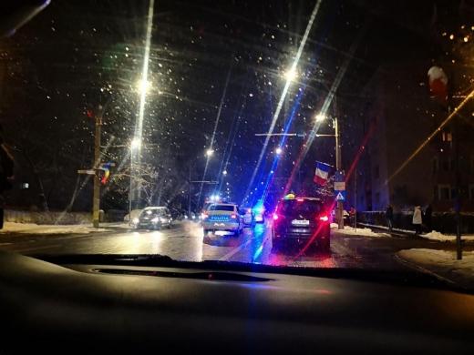 Accident pe Bulevardul Nicolae Titulescu. O tânără a fost lovită pe trecerea de pietoni