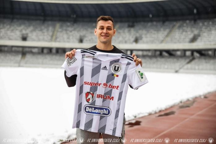 Universitatea Cluj a reușit al doilea transfer în această iarnă