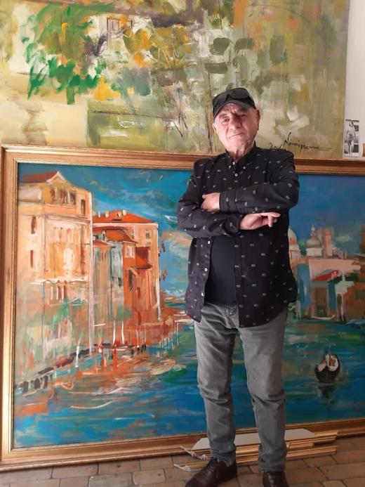 A murit pictorul clujean Viorel Nimigeanu