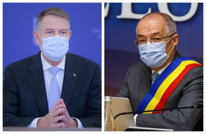 """Iohannis, mesaj pentru Boc: """"Sunt probleme fictive (banii pentru centrele de vaccinare - n.r.). Cum nu mai avem campanii electorale, trebuie să găsească politicienii alte metode de a ieși în față""""!"""
