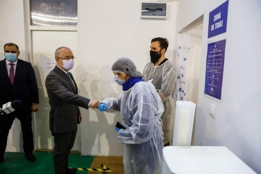 6 centre de vaccinare împotriva Covid-19, active de luni la Cluj-Napoca
