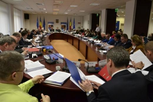 """Discuții """"cu scântei"""" în ședința CJ Cluj, privind înghețarea salariilor. PSD se opune măsurii susținute de PNL-USR-UMDR"""