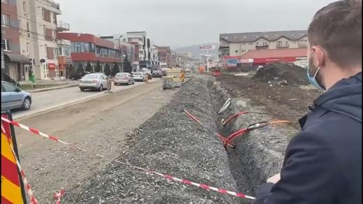 Penalități de 1,2 milioane de lei pentru firma Napoca. Strada Eroilor trebuia finalizată din 2019!