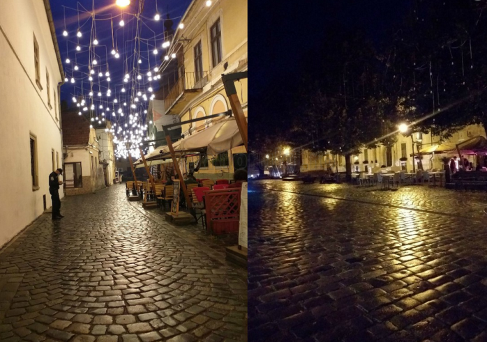 Cum a arătat Clujul în pandemie: străzi goale, concerte pe scaune, distanțare în cafenele, carantină de noapte. GALERIE FOTO