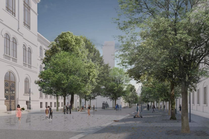 Licitația pentru modernizarea străzii Mihail Kogălniceanu va fi reluată. Diferit a fost descalificată